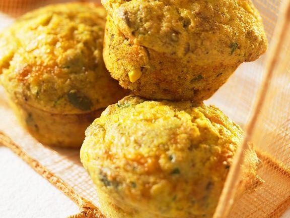 Mais-Käsemuffins