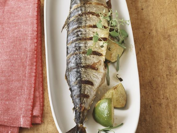 Makrele vom Grill