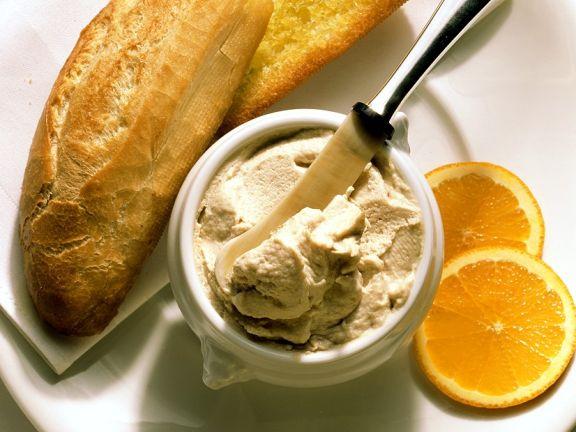 Makrelencreme mit Brot