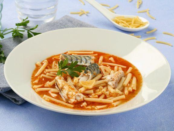 Makreleneintopf mit Nudeln