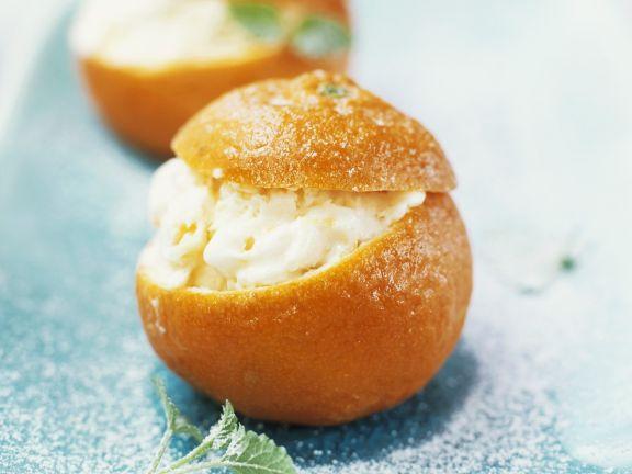 Mandarinen-Eis