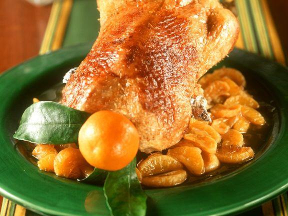 Mandarinen-Hähnchen