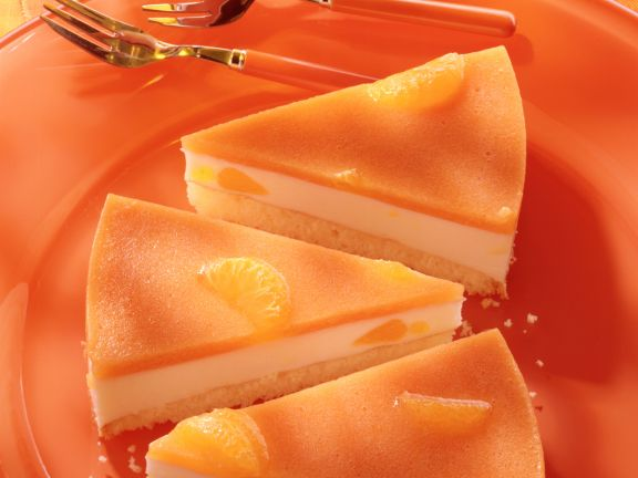 Mandarinen-Kefir-Torte