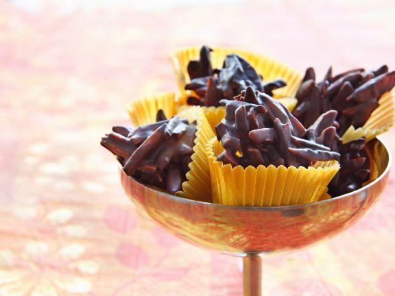 Mandel-Schokoladenkonfekt