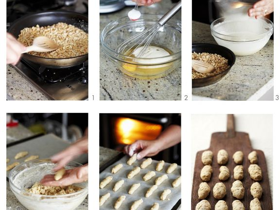 Mandelkekse backen