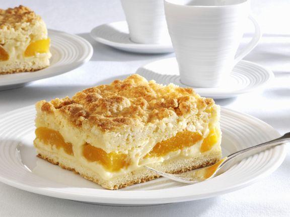 Mandelkuchen Mit Aprikosen Und Streuseln Rezept Eat Smarter