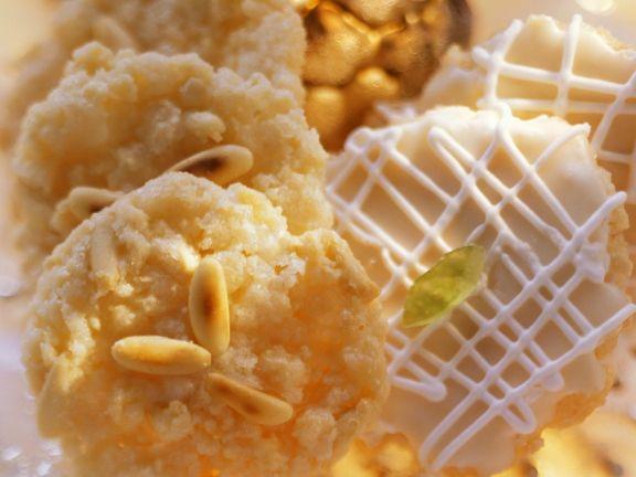 Mandeln-Pinienkernplätzchen