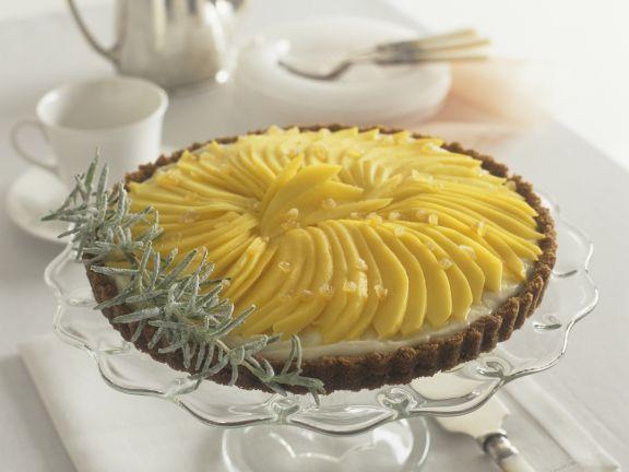 Mango-Ingwer-Tarte