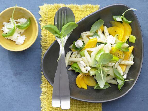 Mango-Lauch-Pasta