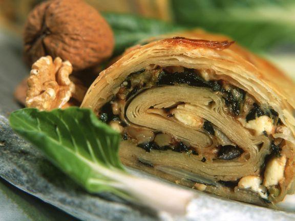 Mangold-Walnuss-Börek