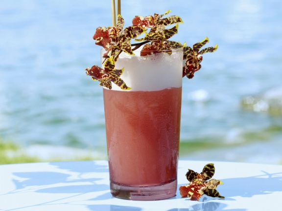 Maracuja-Mandarinen-Cocktail