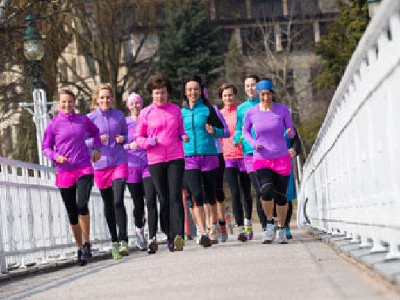 Training mit Marathon-Läuferin Ingalena Heuck
