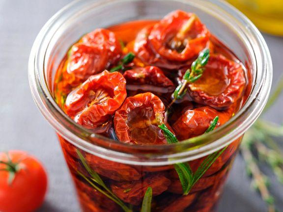 Marinierte getrocknete Tomaten