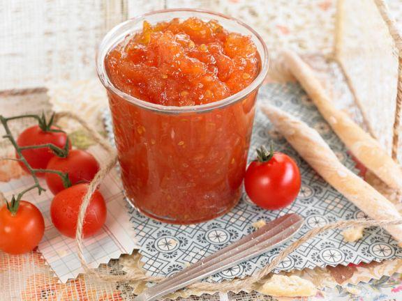 Marmelade aus Strauchtomaten