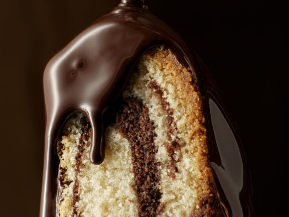 Marmorkuchen Mit Schokoladenglasur Rezept Eat Smarter