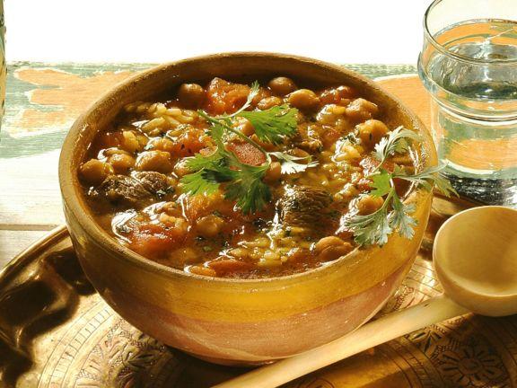 Marokkanische Suppe zum Ramadan