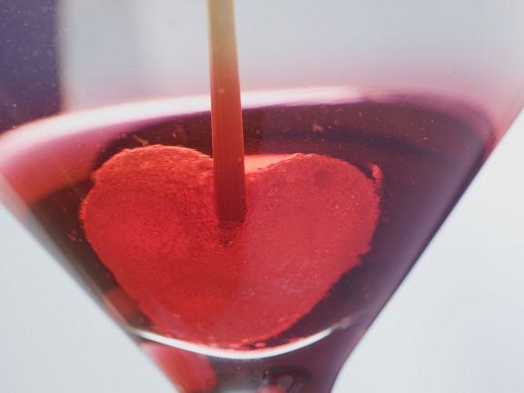 Martini zum Valentinstag