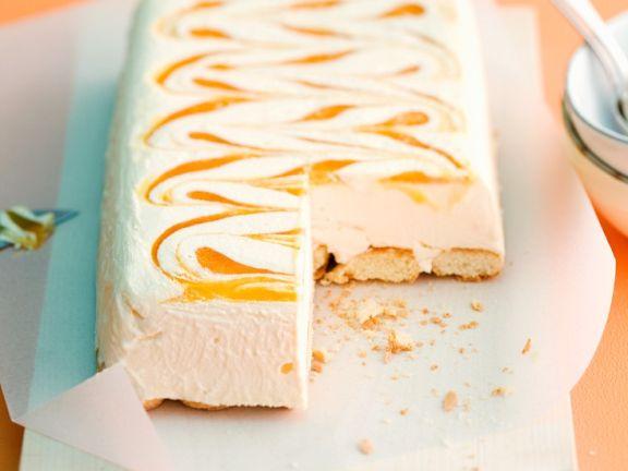 Mascarpone-Eiskuchen