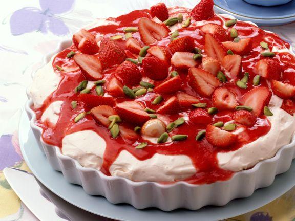 Mascarponecreme mit Erdbeeren