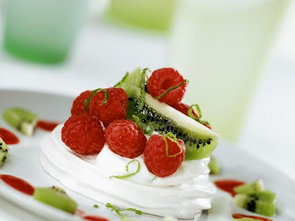 Mascarponecreme mit Früchten