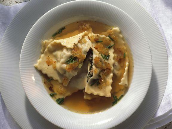 Maultaschen-Suppe