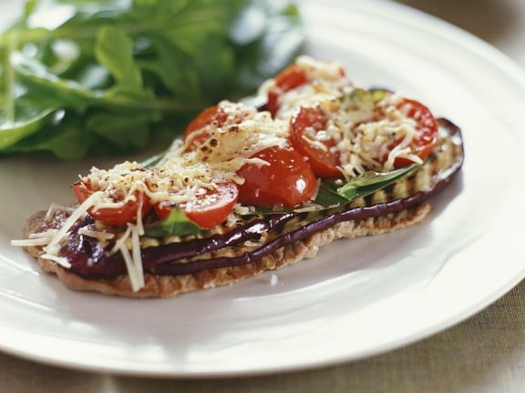 Mediterran gegrillte Kalbsschnitzel