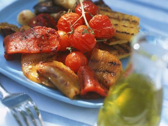 Mediterranes Gemüse vom Grill