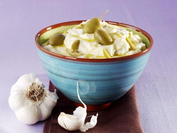 Mediterranes Kartoffelpüree mit Joghurt