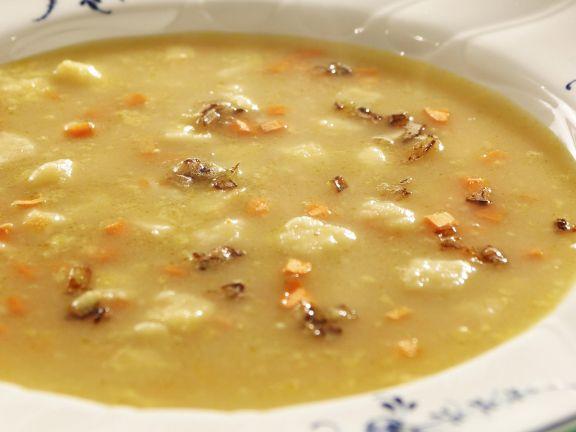 Mehlsuppe nach schwäbischer Art (Brennte Mehlsuppe)
