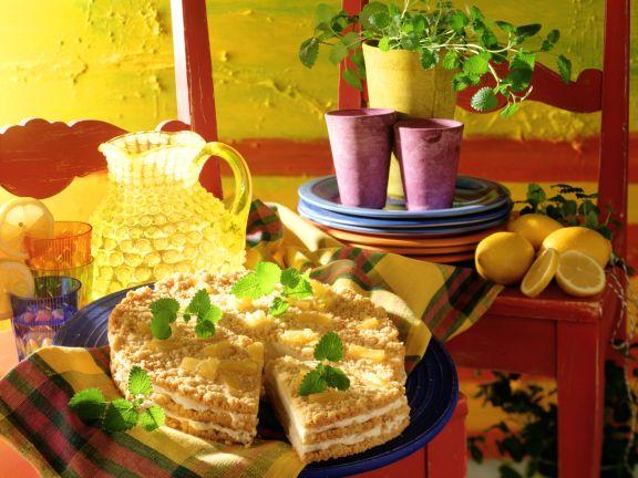 Melisse-Ananas-Mascarpone-Cremetorte
