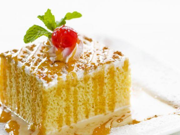 Milchkuchen nach mexikanischer Art (Tres Leches Cake)