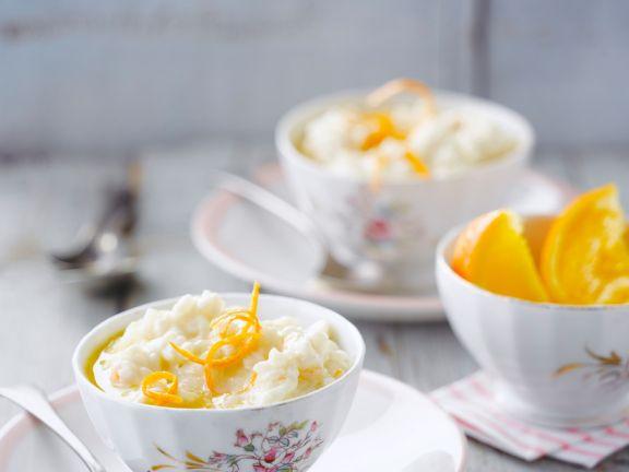 Milchreis mit Orangen
