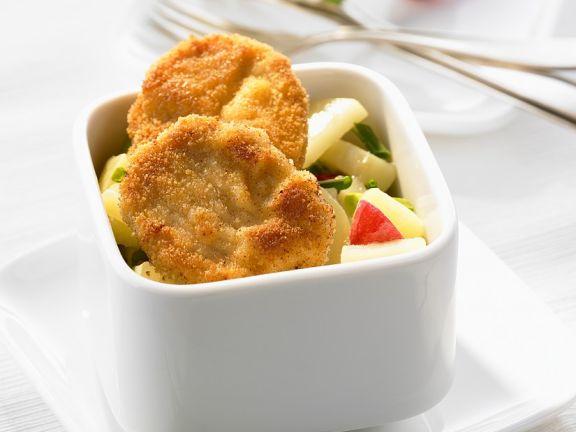 Mini-Wiener Schnitzel mit Kartoffelsalat
