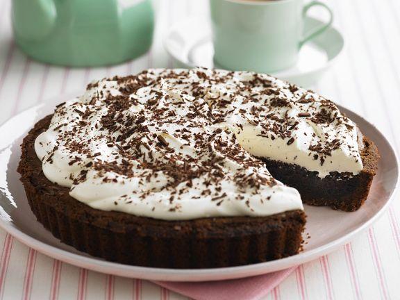 Schokoladenkuchen aus den USA, Missisippi Mud Pie