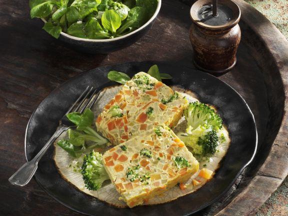 Möhren-Brokkoli-Pastete