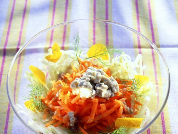 Möhren-Kohlrabi-Salat