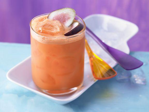 Möhren-Mandarinen-Drink
