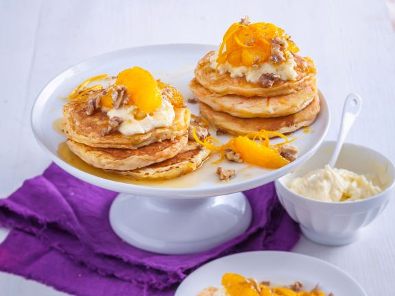 Möhren-Pancakes