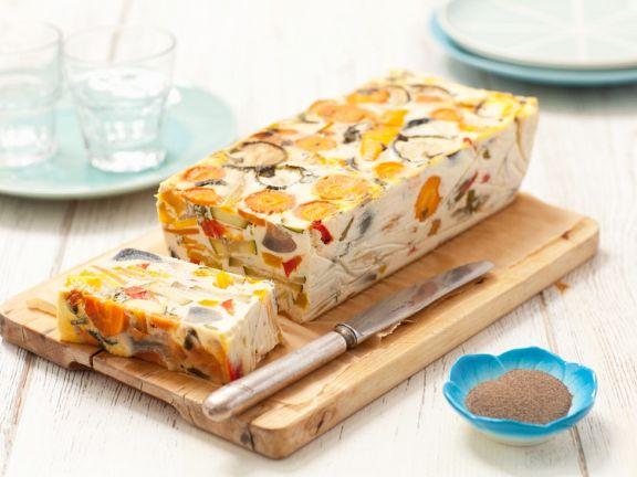 Möhren-Zucchini-Terrine