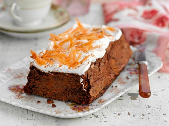 Mohrenkuchen Mit Frischkase Topping Rezept Eat Smarter