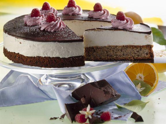 Mohn-Joghurt-Torte