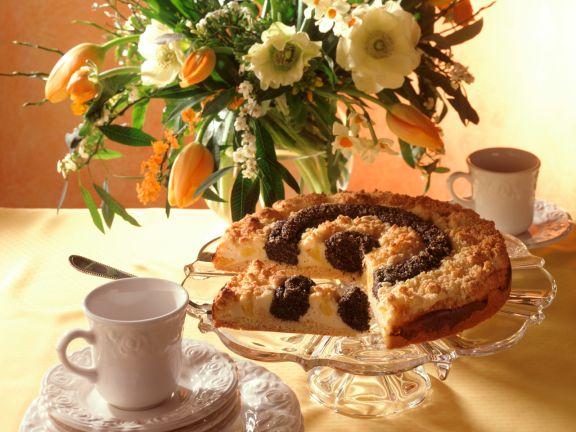 Mohn-Klecksel-Kuchen