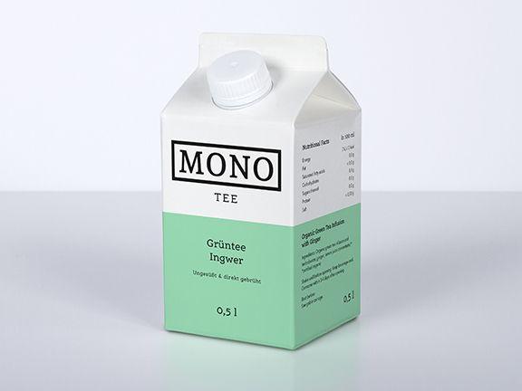 Mono Tee Grüntee Ingwer