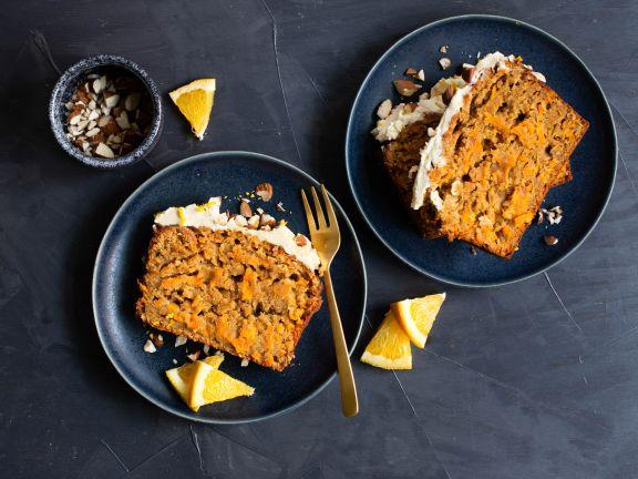 Morotskaka (schwedischer Möhrenkuchen)