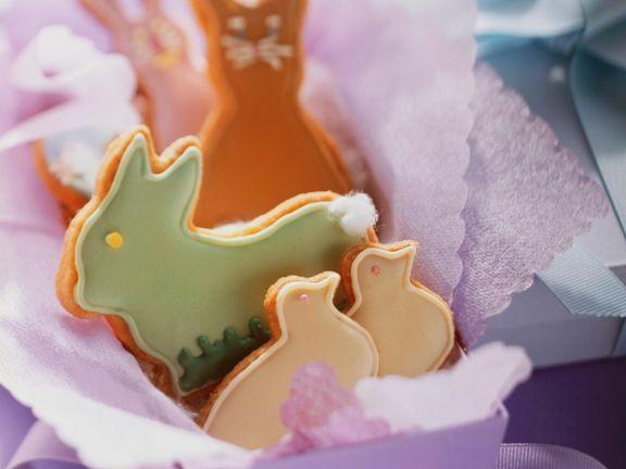 Mürbteigplätzchen zu Ostern