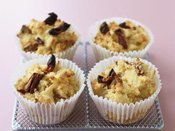 Muffins mit Kirschen und Datteln (Glutenfrei)