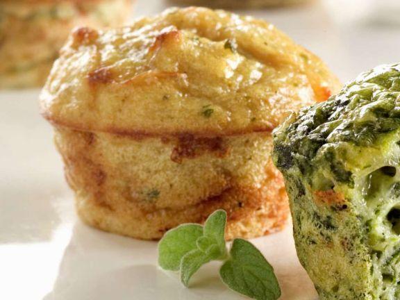 Muffins mit Kräutern