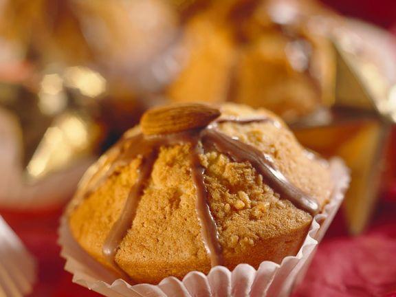 Muffins mit Mandeln