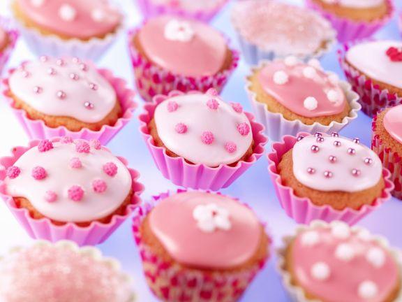 Muffins Mit Zuckerguss
