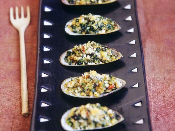 Muscheln mit Couscous